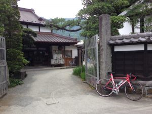 中澤酒造玄関