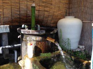 井上酒造湧き水